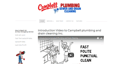 Preview of campbellplumbing.net